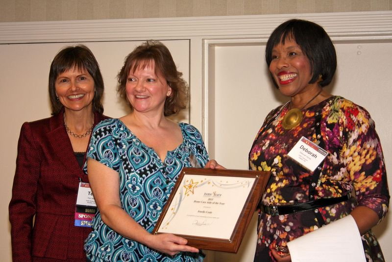 Jenelle Caregiver of the Year Award 2012 small